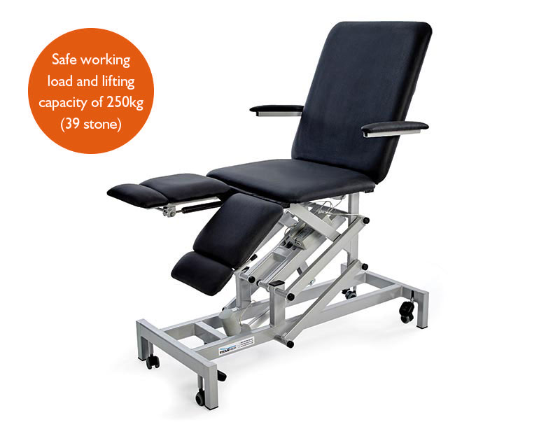 Double Footswitch Electric Podiatry Chair